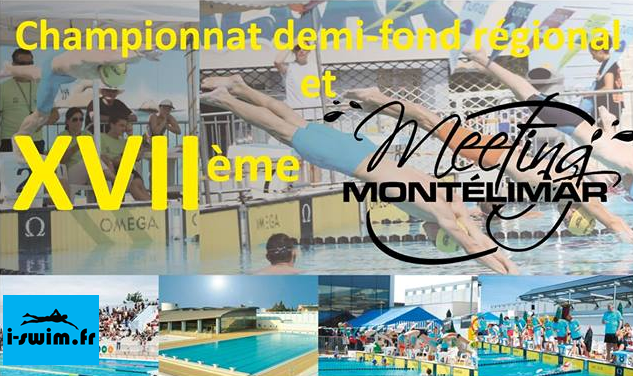 Meeting natation montelimar 2017