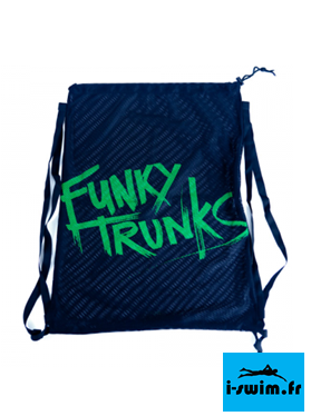 FUNKY TRUNKS MESH BAG STILL BLACK